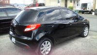 2012 mazda 2 with a two year warranty