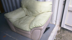 Leather chair -- free