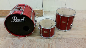 3-pc. Pearl MLX (All Maple Shells) Package - circa early 1990's