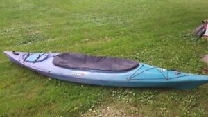 "Kayak - Used Iqaluit clear water design 11'8"" long"