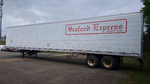 2003-2005 Utility 53' Trailer w/ ThermoKing Refrigeration Unit