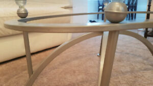 Perfect condition glass tables