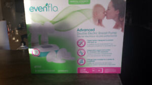 ADVANCED evenflo double electric breast pump