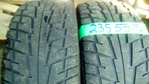 Pair of R18 winter and all season tires