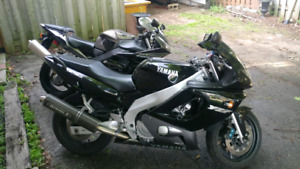 Mint yzf 600 - ready to ride