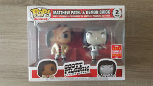 Scott Pilgrim 2 Pack SDCC 2018 Funko pop