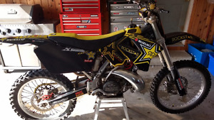 2005RM 250 TWO STROKE , UPGRADED