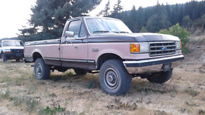 1989 Ford F250 4X4