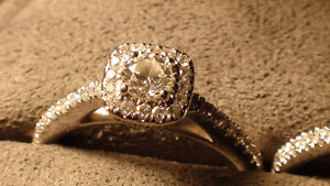 Vera Wang LOVE Collection 0.95 CT. T.W. Engagement Ring - Bridal