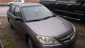2005 Honda Civic 4 Dr 2nd Owner Great Cond 134K