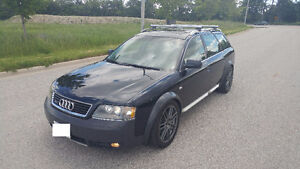 2004 Audi Allroad Wagon 6SP 2.7T