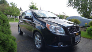 2009 Chevy Aveo5 LT Hatchback with Sunroof