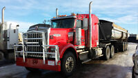 W900, two wet lines & tank