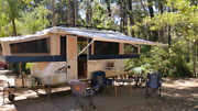 Jayco Outback Flamingo caravan with shower / toilet for hire Hillarys Joondalup Area Preview