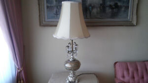 Beautiful French antique tall lamp.