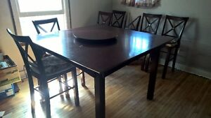 cherrywood dining room set