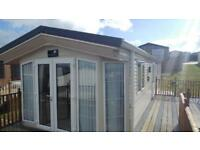 Stunning caravan with sea views for sale at Ocean Heights nr New Quay West Wales