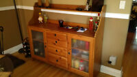 MOVING SALE!! Buffet and Cabinet