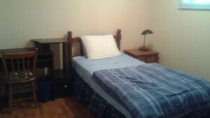 Rooms for rent steps from sault college- Completely Renovated!