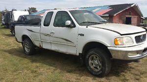 1997 ford f150 parts truck