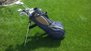 Ladies right hand golf clubs with bag
