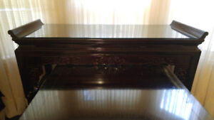 Chinese Altar console table set