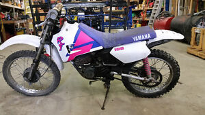 1986 RT100cc 2 stroke yamaha dirt bike