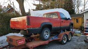 1990 Chev Silverado part out