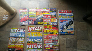HUGE COLLECTION  OF KIT CAR MAGAZINES