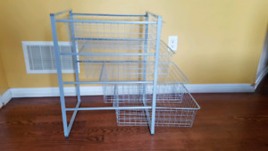 Ikea wire drawer set
