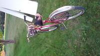 Norco bike, peddle brakes