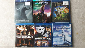 6 excellent BlueRays...new or watched once