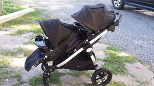 City Select Double Stroller- Very Good Used Condition