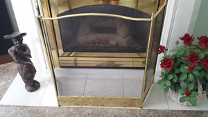 Brass Fireplace Screen