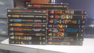 Lot of 17 conan books