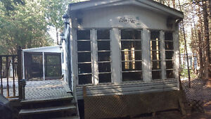 1989 Palm Aire mobile home (trailer) for sale.