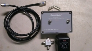 Channel Master preamp and antennas