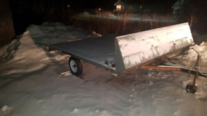 Double wide Ski-Doo trailer for sale