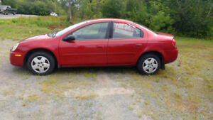 2005 Dodge neon $1800  or  Make a reasonable offer.