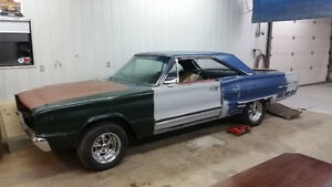 1967 Coronet 500 big block car