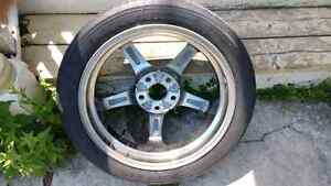 "Reduced spare tiire 18"" in perfect condition. make an offer..."