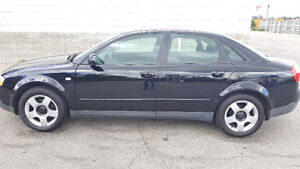 Audi A4 2004 1.8T - Excellent Condition, No Rust, Must See!!