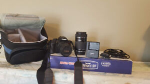 As New : Canon Rebel EOS T5i Kit