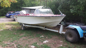 older 15ft speed boat with 85hp