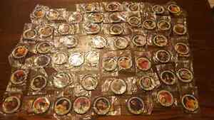 Wwe / wwf wrestling bungeez katch metal collector coins lot  51