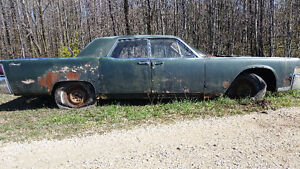 1965 Lincoln-Restore or Great Parts car