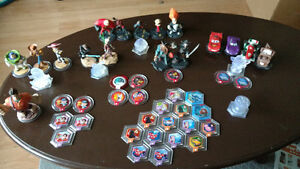 Disney infinity characters and other items