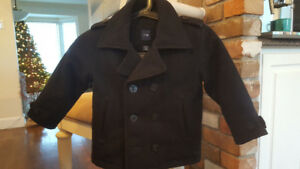 Gap Boys Wool Pea Coat