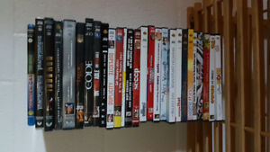 DVD'S AND BLUERAY