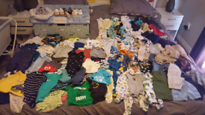 Baby Boys Clothes Newborn, 0-3 Months & 3 Months 160+ items!
